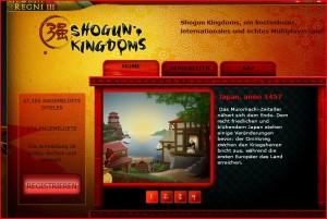 Onlinespiel Shogun Kingdoms