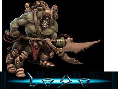 Ein Voidspawn Behemoth aus dem Browsergame Laya von Playdox