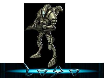 Ein Vortzu Soldier aus dem Browsergame Laya
